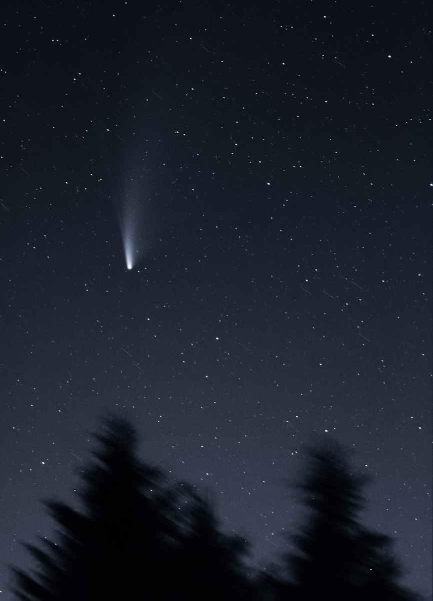 night space dark dust