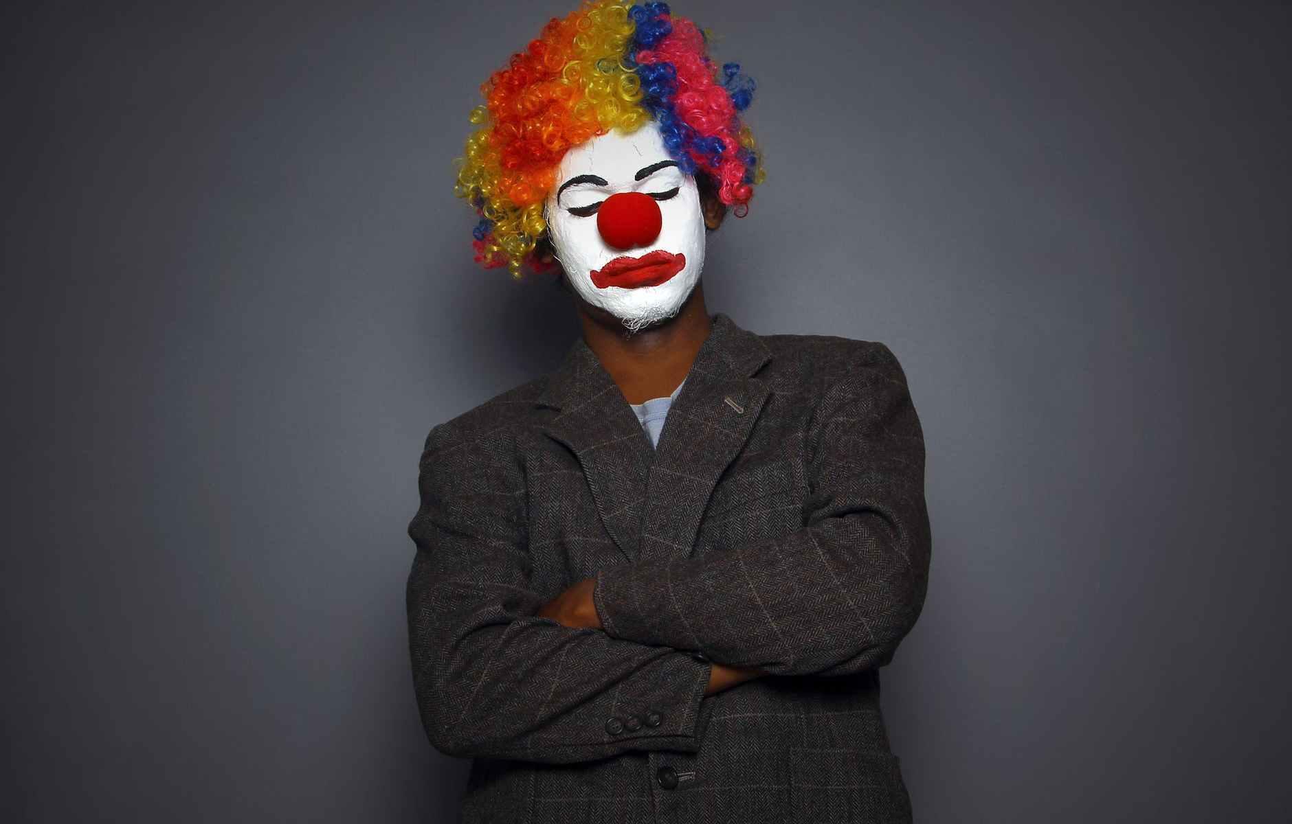 photo of a clown