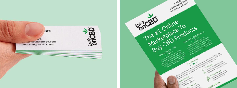 Living On CBD - Creative   Strategy   Marketing