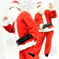 【クリスマスコスプレ】Peach×Peach メンズ ベーシックサンタ 7点セット