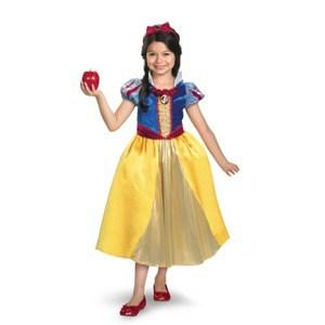 ディズニー DISNEY スノーホワイト 白雪姫 シマーコスチューム チャイルド