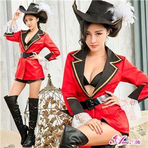 赤ジャケットの女海賊コスプレ