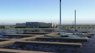 Praktisch für den Jetset: Jachthafen direkt am Flugplatz.