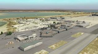 Altes Terminal in X-Plane