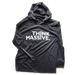 FRONT triblend hoodie
