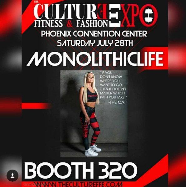 Monolith and The Culture Fitness & Fashion Expo