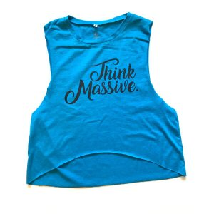 Womens Softer Side Of Think Massive Crop