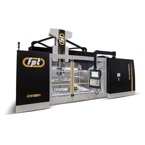 Вертикально фрезерный станок FPT SCUDERIA – Вертикальный 5-осевой фрезерный станок портального типа для высокоскоростной обработки