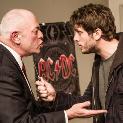 "Jeff Murray as ""Harold,"" Eric Park as ""Treat"" in Orphans, Photo Courtesy of Ken Stanek"