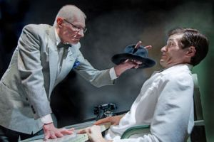 Dr. Chumley (Denis Latkowski) and Dr. Sanderson (Chris Cotterman). Photo courtesy of Ken Stanek.