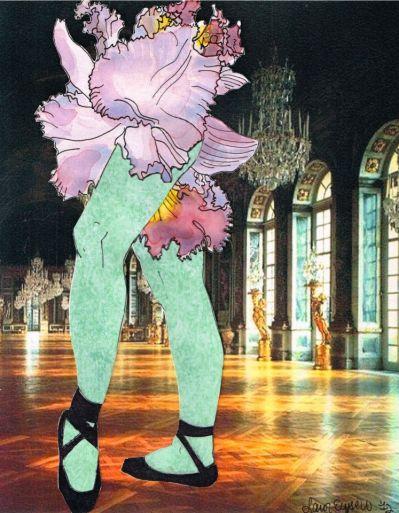"""Bearded Iris"" by Lauren Elyse"