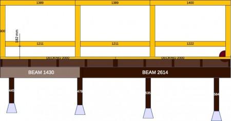 Deck Plan Fence