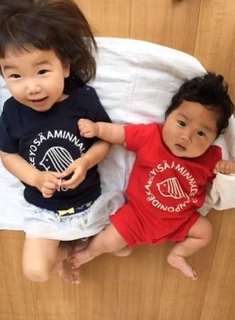 モノモニ Tシャツ おそろい 親子おそろい 兄妹おそろい おじいちゃんと孫おそろい