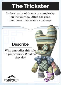 Monomyth - The Trickster Card