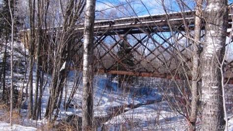 Stream Under Train Tracks