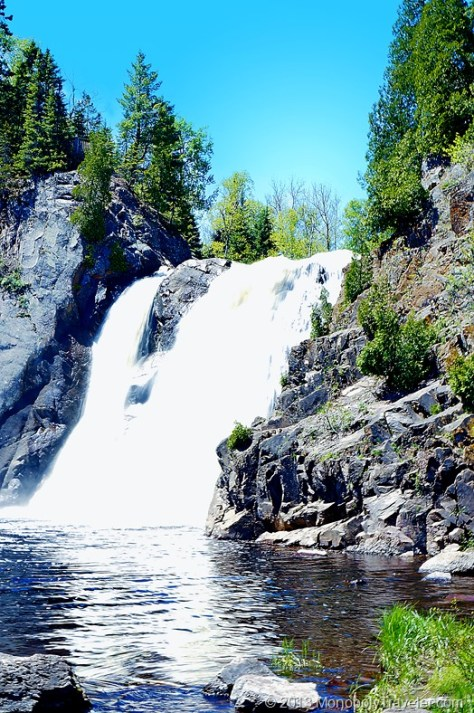 High Falls - Baptism River edited