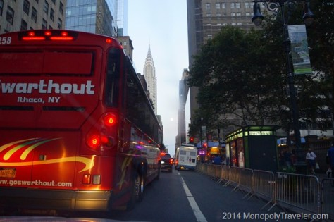 Driving a Bus in Manhattan?