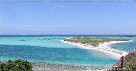 Tropical Waters from Fort Jefferson