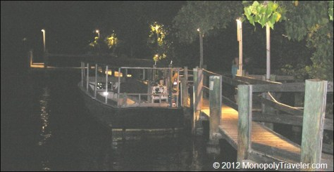 The Receiving Dock at Cap's Place