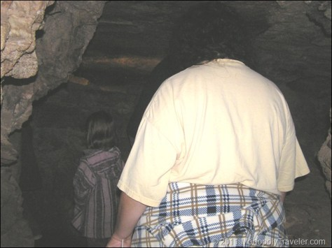 Entering Wind Cave