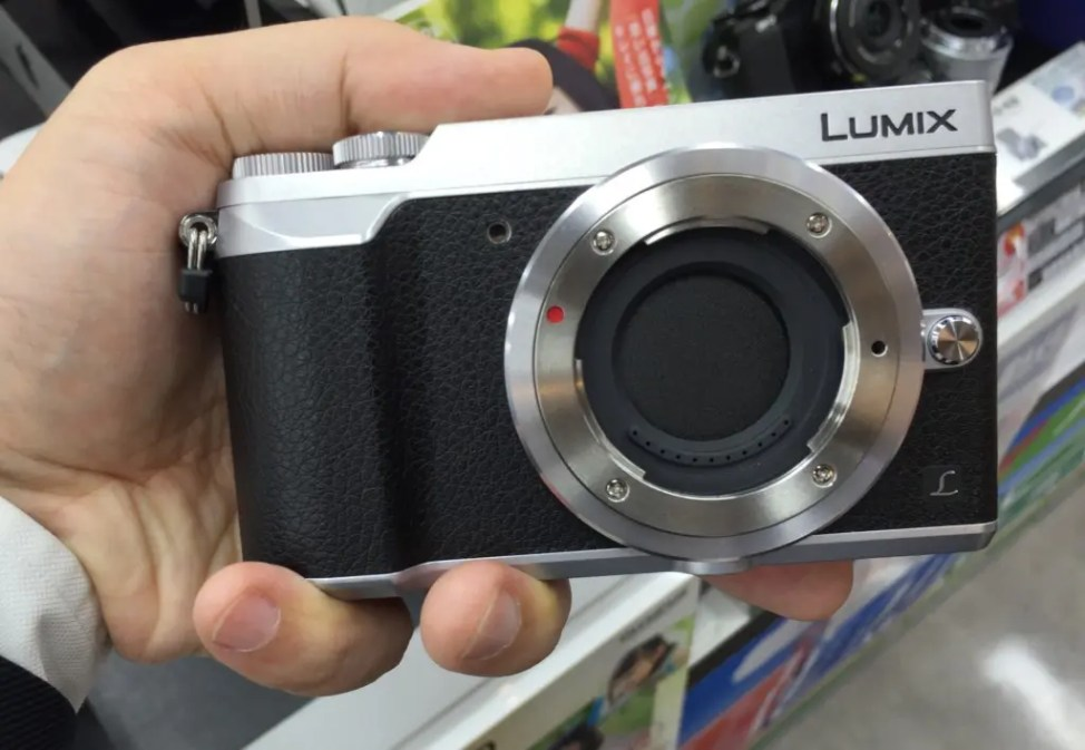 Lumix GX7 Mark II 正面画像
