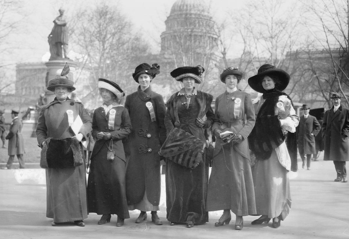 Woman Suffrage Parade Of
