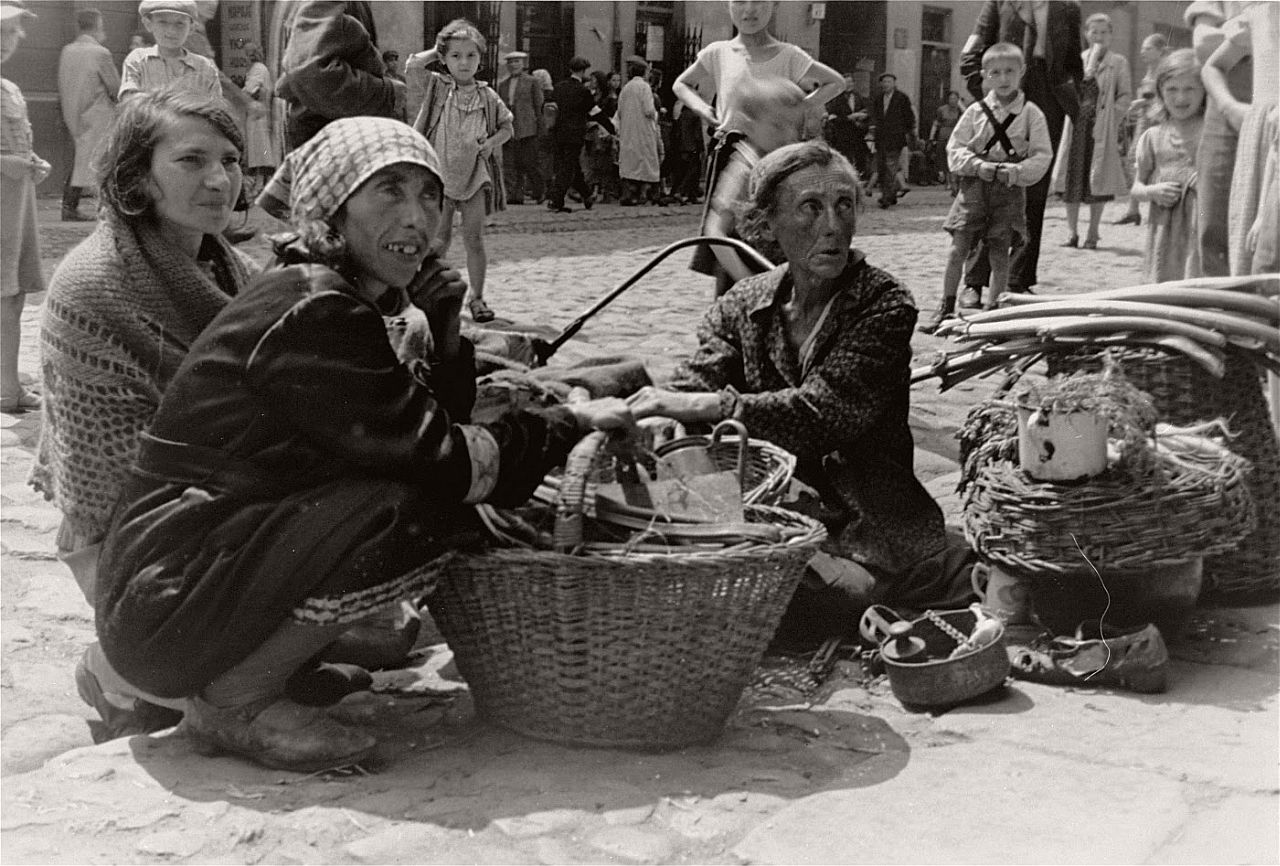 Vintage Daily Life In The Warsaw Ghetto Summer Of