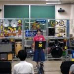 MUSICROBOT特別演奏会の様子 (福井大学オープンキャンパス2017)