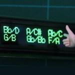 コード進行が表示できるMIDIプレーヤの試作 – 分数コード&カポ対応