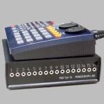 意思伝達装置用のスイッチを接続できる『打楽器の遠隔演奏装置』の試作品