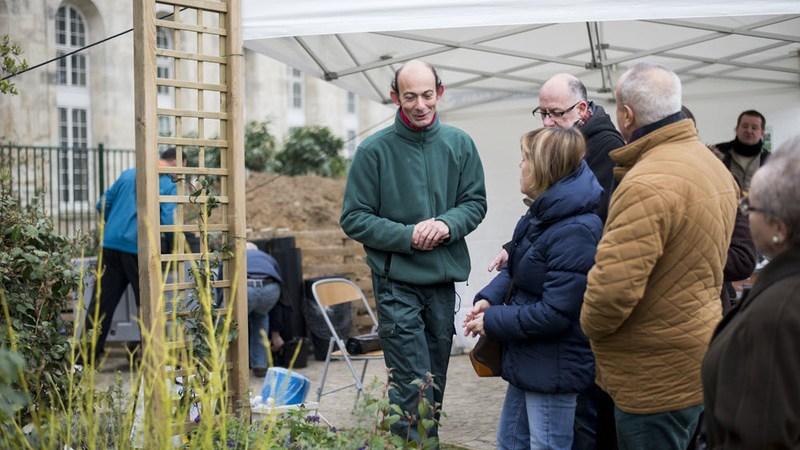 Adresse ventes de plantes à Paris