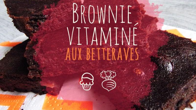 Recette : brownie chocolat & betterave (végétal)