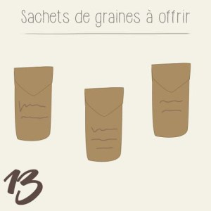 diy fabriquer des sachets de graines en papier kraft mon petit balcon. Black Bedroom Furniture Sets. Home Design Ideas