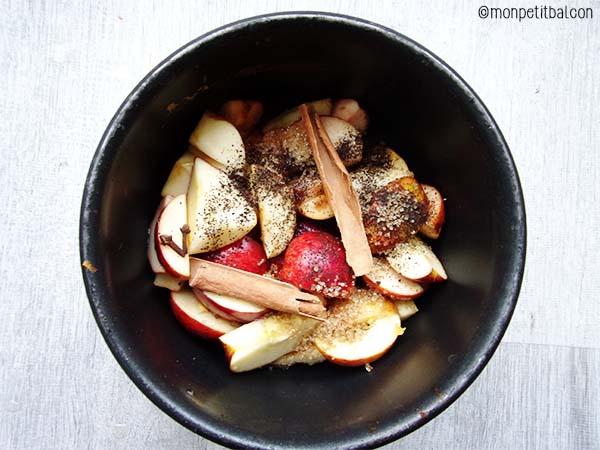 recette du cidre chaud aux pommes - hot apple cider