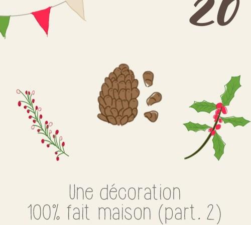 7 DIY de décoration table de noel miniamiste et végétale