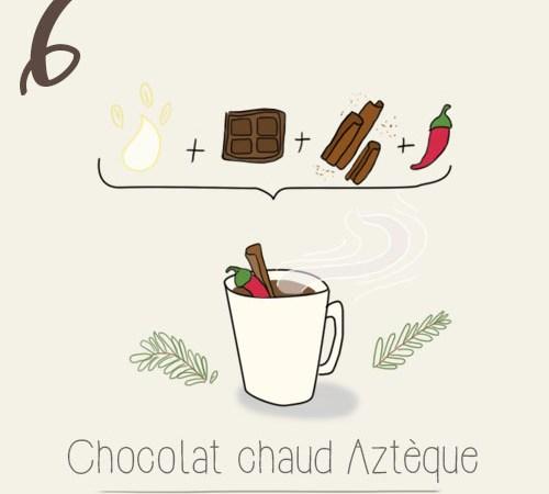 Recette : chocolat chaud aztèque au piment