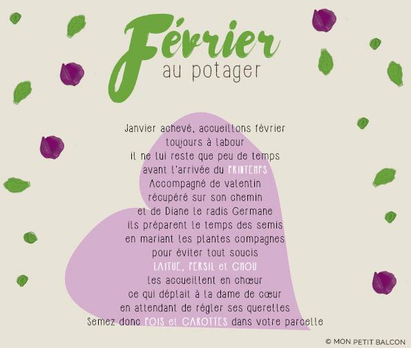 potager en février poème de jardinier