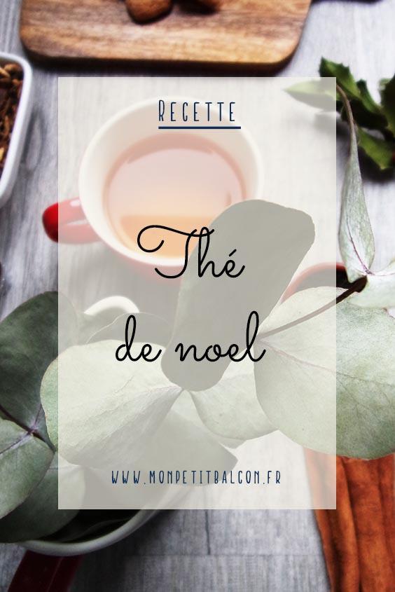 recette thé de noël maison épicé pinterest