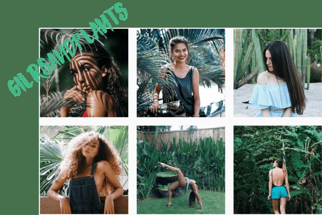 10 comptes Instagram pour voir la vie en vert en 2017 girls and plants