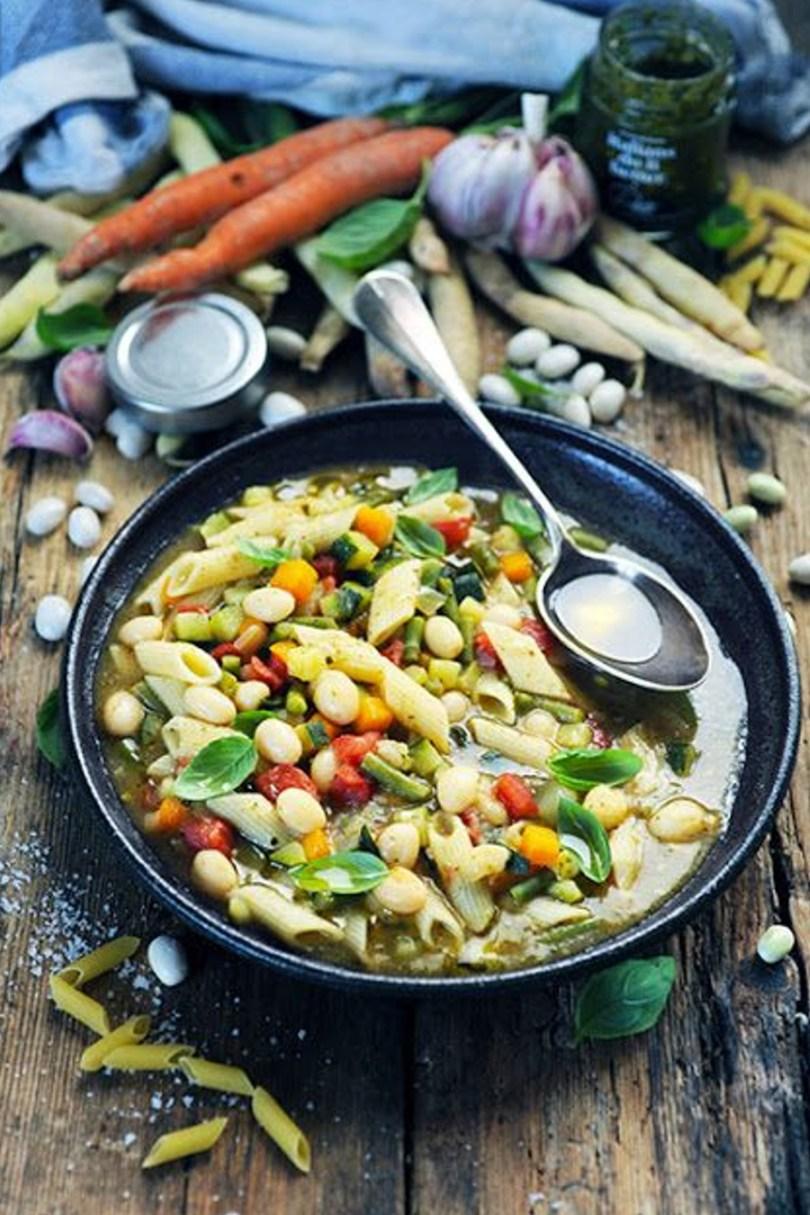 voyage botanique en Italie avec une recette de minestrone de dorian cuisine