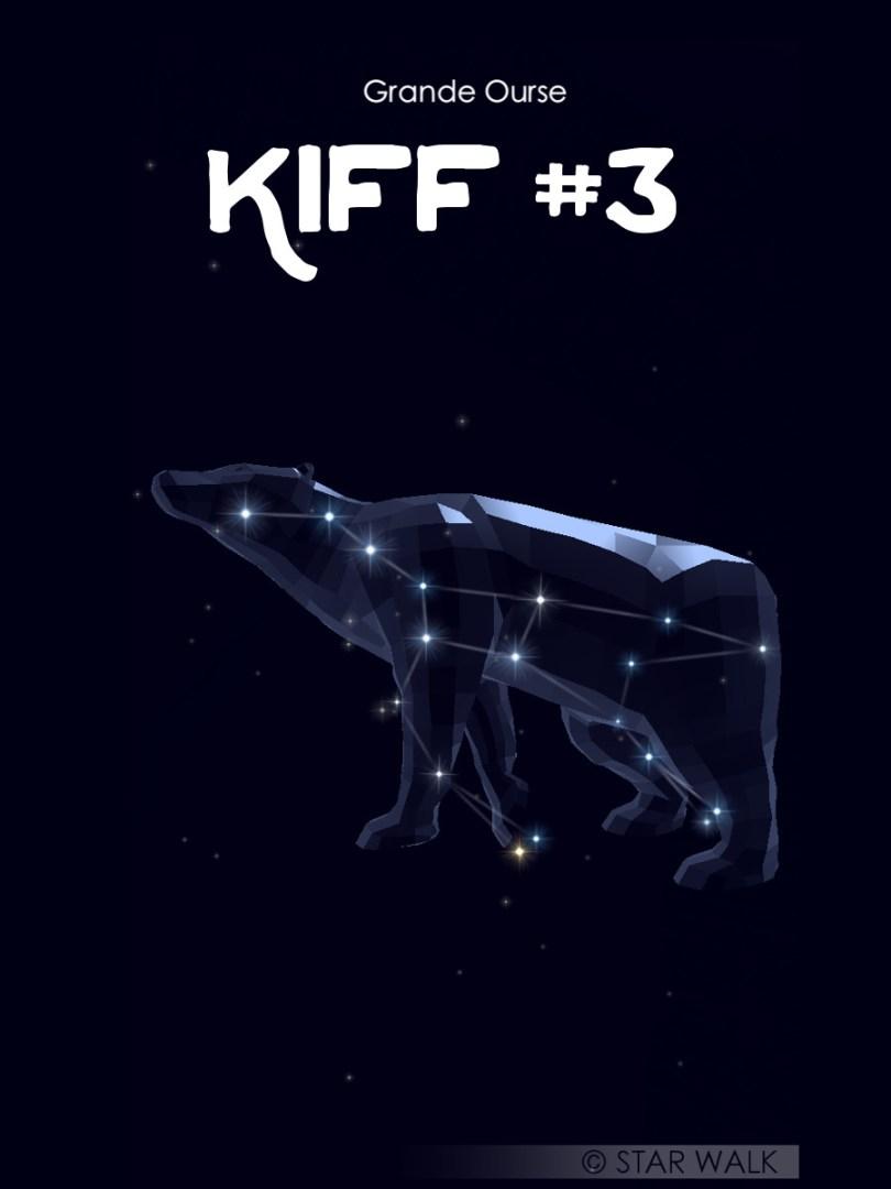constellation de la grande ourse avec l'application mobile star walk