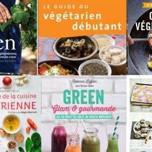 Ma bibliothèque : 5 livres pour cuisiner végétarien