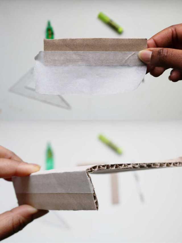 DIY cabinet de curiosités avec des papiers en papier pas à pas | Mon petit balcon