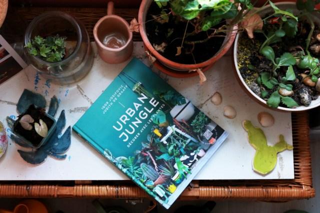 urban jungle blogger, livre pour inspiration plantes et décoration