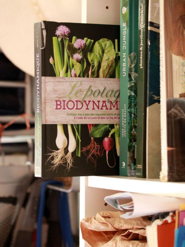 livre de jardinage le potager biodynamique aux éditions marabout