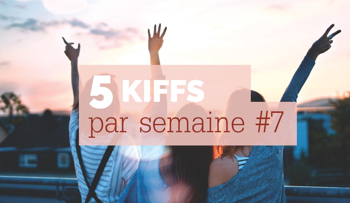 5 kiffs par semaine 7 : découvertes, musique, art, vidéo | Mon petit balcon