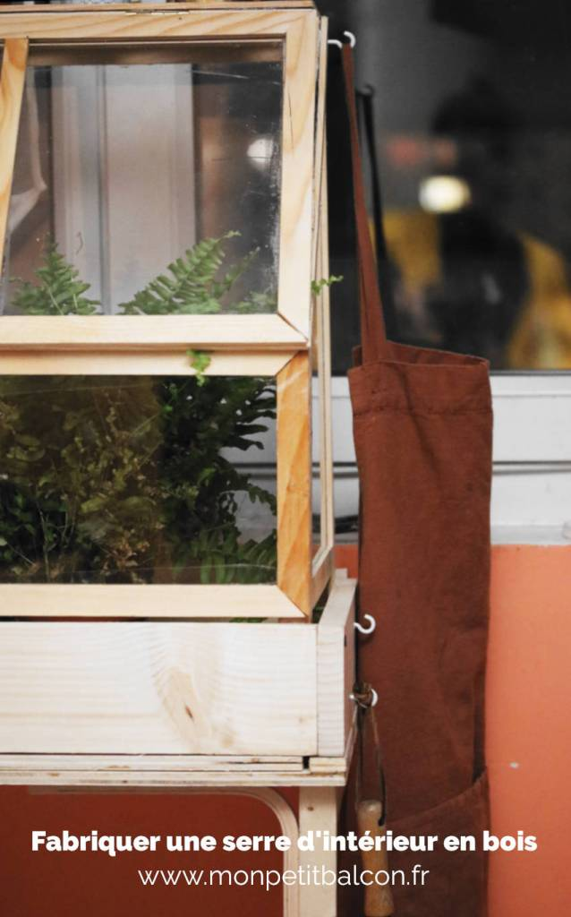 fabriquer une serre en bois pour semis d'intérieur [DIY]