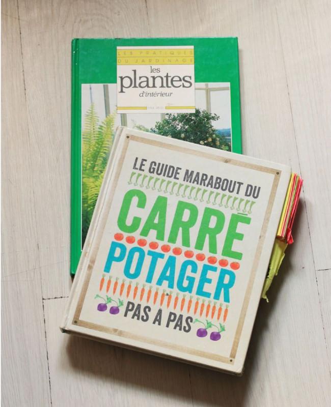 ma liste de livres préférés pour jardiner sur le balcon