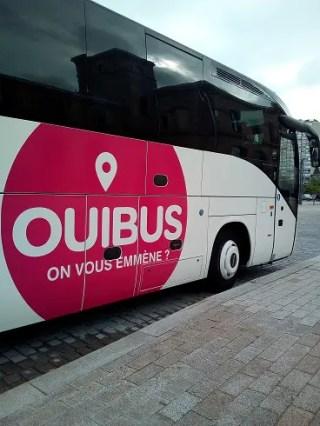 フランスの格安バスOuibus。電車が高ければバスで旅してみよう
