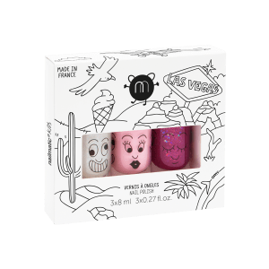 kit de 3 esmaltes al agua Nailmatic